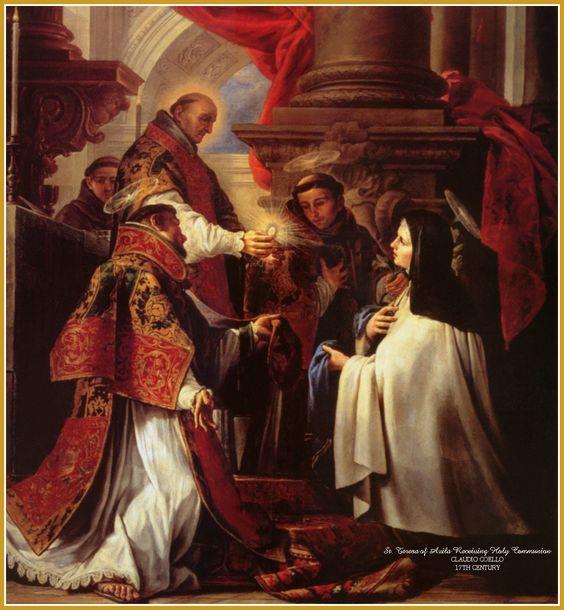 St Teresa Communion