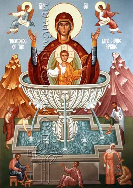 theotokos of the life giving spring