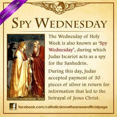 Spy Wednesday